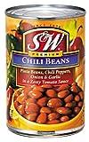 S&W チリビーンズ 4号缶 439g×12缶