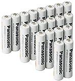 【Amazon.co.jp限定】パナソニック エネループ 単4形充電池 20本パック スタンダードモデル BK-4MCC/20SA