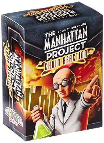 The Manhattan Project Chain Reaction Board Game