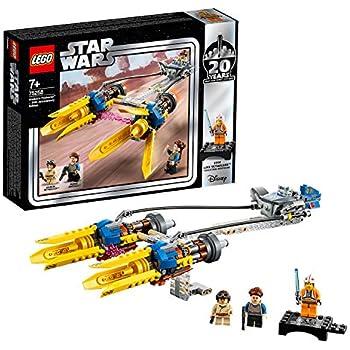 レゴ(LEGO) スター・ウォーズ アナキンのポッドレーサー(TM) – 20周年記念モデル 【復刻版 ルーク・スカイウォーカーのミニフィギュア付き】 75258