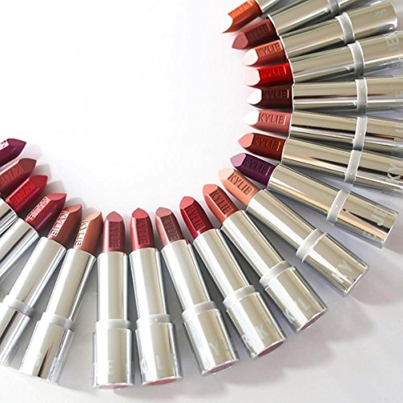 連結する有効化分布kyliecosmetics カイリーコスメ silverseries シルバーシリーズ NEW LIP 口紅 ヌーディ カイリーリップ CREAM BRULEE