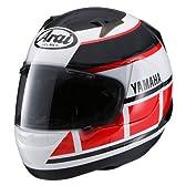 [ヤマハ] ASTRO-IQ YAMAHA STROBO/アストロIQ ヤマハ ストロボ バイク用 フルフェイスヘルメット / ホワイト/レッド / L/59-60cm / QYCYSK052L10