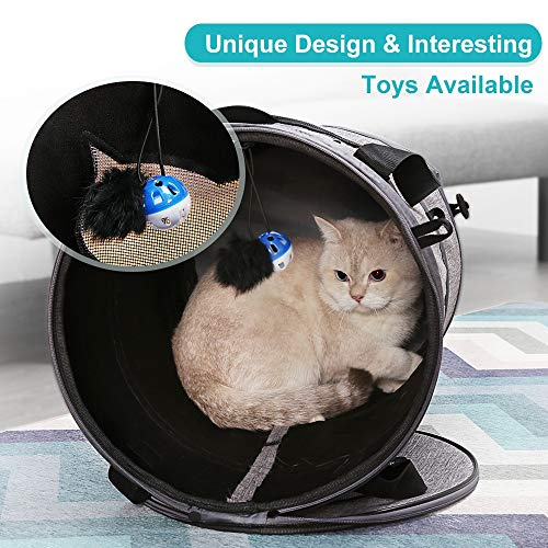 Lantoo『3in1多機能猫ベッド猫トンネルペットキャリー』