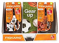 Fiskars 5 Inch Mvp Non-Stick 16 Count Kids Scissor 16 Scissors and 12 Rulers [並行輸入品]