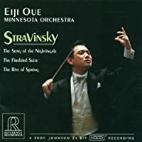 Stravinsky: The Song of the Nightingale, The Firebird Suite, The Rite of Spring (1996-04-30)
