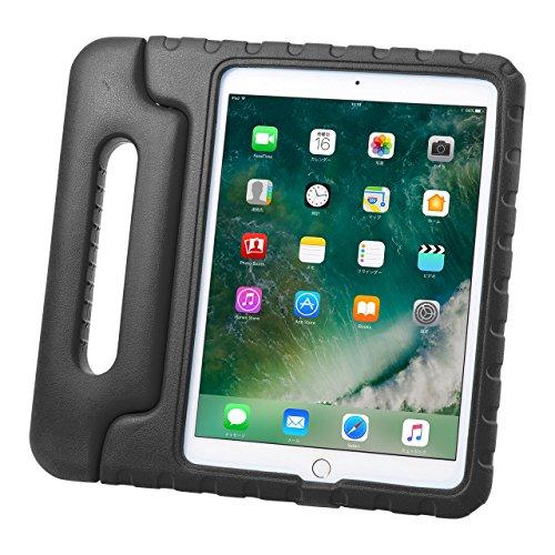 サンワサプライ iPad 9.7インチ 衝撃吸収ケース 黒 PDA-IPAD1005BK