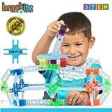 Brackitz bkt-112Inventor 100Piece Set :教育Construction Set–Learning Toys & Building Blocks for Kids