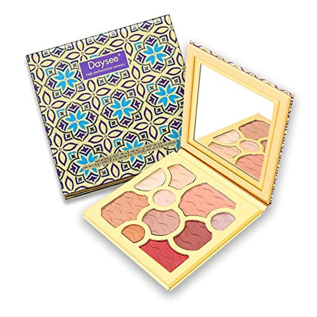 サルベージ不平を言う錆びRabugogo 10色シマーマットアイシャドウ化粧パレット長持ち化粧品セットミラー付き
