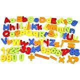 Cidoキッズ子供磁気アルファベット文字Maths磁石冷蔵庫数80pcs