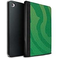 stuff4PU Book/カバーケースfor Apple iPad Mini 4タブレット/ Pit Viper/Green /爬虫類スキン効果 MR-IPM4-TSBS-MD-SNKSKIN-G