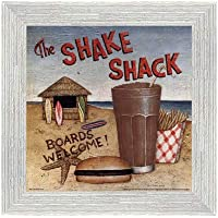 Shake Shack by David Carter Brown–10x 10インチ–アートプリントポスター LE_480531-F10587-10x10