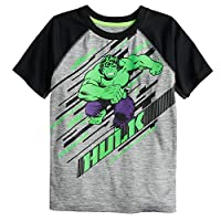 Jumping Beans Boys 4-12 Hulk Run Active Graphic Tee