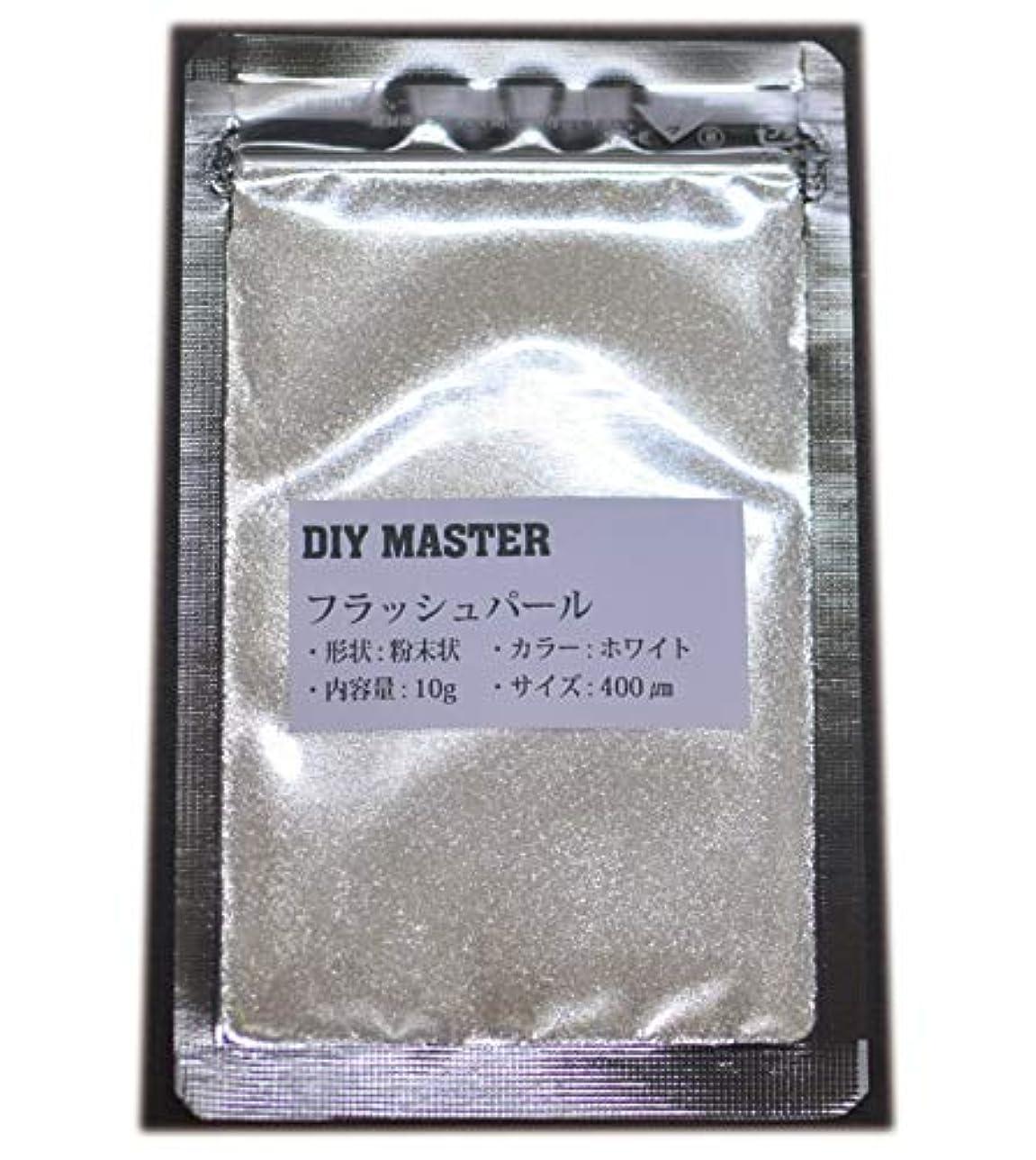 リーチ頑丈紛争DIY MASTER フラッシュパール ホワイト 10g (極粗目、ドライ)