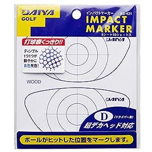 ダイヤ(DAIYA) ショット確認インパクトマーカー ドライバー用(デカヘッド対応) ショット確認AS-421