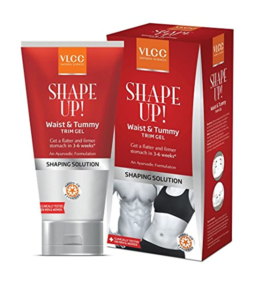チャンバー試験ふりをするVLCC Natural Sciences Shape up Waist and Tummy Trim Gel 100g by VLCC [並行輸入品]