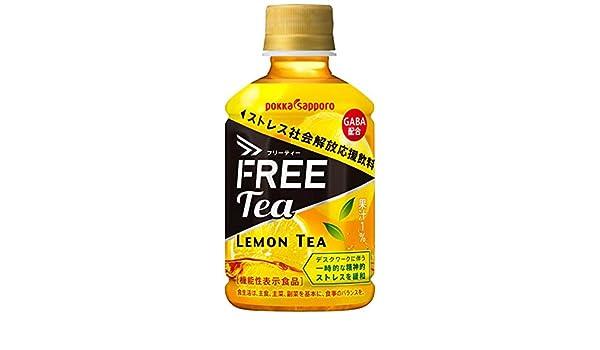 amazon ポッカサッポロ FREE Tea フリーティー 275mlペット