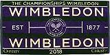 ウィンブルドン(Wimbledon) ウィンブルドン公式 タオル チャンピオンシップタオル 41076948 グリーン