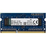 【Kingston】 国内正規代理店品 永久保証 ノートPC用増設メモリ  DDR3L-1600 (PC3L-12800) 4GB CL11 1.35V Non-ECC SO-DIMM 204pin    KVR16LS11/4