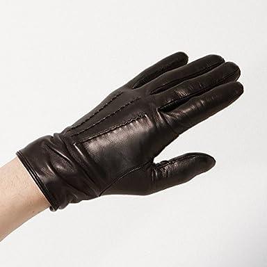 Goat Nappa Gloves (Ships) 118-73-0139: Black