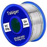 Tabige無鉛銀入り糸半田 ハンダ 溶接ワイヤー リール巻はんだ Sn-0.3Ag-0.7Cu 線径0.8mm 100g gootに適用する