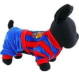 baby-mine(ベイビーマイン)秋冬2016新作 バルセロナ、ACミラン サッカーユニフォーム ペット犬服