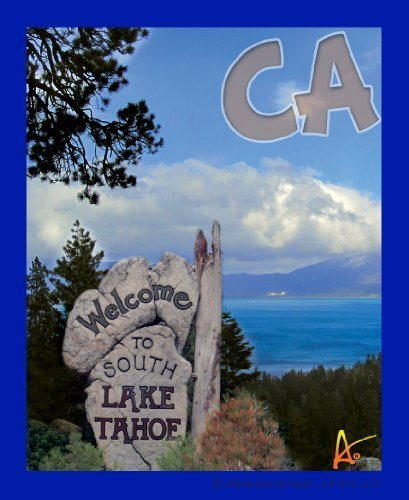 Best Ultimate Iron On Lake Tahoe Travel Collectable Souvenir Patch - National Parks & Monuments Souvenir Postcard Type Quality Photos Graphics - Lake Tahoe [並行輸入品]