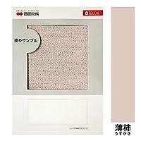 A4判塗りサンプル (エコ美ウォール[透湿タイプ] 薄柿)[109]