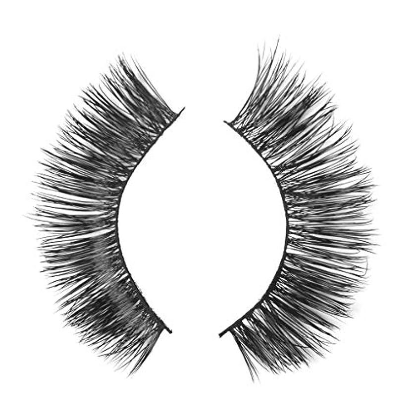 スクラップお別れ巻き戻すミンクの毛の自然な厚くなる化粧品の3D版のための一組のまつげ