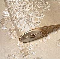 ホーム壁紙と壁画 不織布の壁紙、深いエンボス加工の壁紙、水色の寝室、リビングルーム、環境保護の壁紙、E (Color : E)