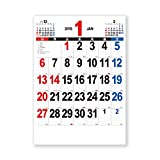新日本カレンダー 2019年 THE・文字 カレンダー 壁掛け A2 (2019年 1月始まり) NK163
