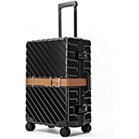 クロース(Kroeus) スーツケース TSAロック ベルト付き 4輪双輪キャスター 静音 3段階調節キャリーバー キャリーケース 大容量 軽量 旅行 出張 一年保証