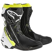 alpinestars(アルパインスターズ)バイクブーツ ブラック/ホワイト/イエローフロー (EUR 41/26.0cm) スーパーテックRブーツ0015