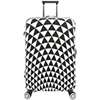 Washable Spandex Luggage Cover 3D Print Travel Suitcase Anti-Scratch Stretchy Protector