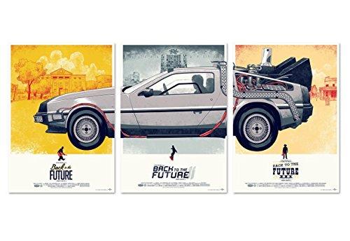 映画 バック・トゥ・ザ・フューチャー ポスター 3枚セット! 42x30cm Back to the Future [並行輸入品]