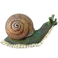 ガーデンオーナメント・置物, 庭の装飾屋外耐候性 - 庭の装飾品彫像ジャングル現実のカタツムリ ガーデン用装飾品 (色 : Snails, サイズ : A)