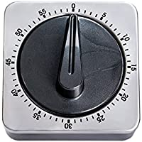 Leetaker タイマー ダイヤルタイマー キッチンタイマー 60分計 電池不要 キッチン 料理用 小型 大音量 [並行輸入品]