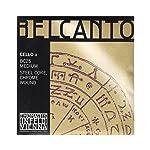 Belcanto ベルカント チェロ弦  A線 スチールコア 4/4  クロム BC25
