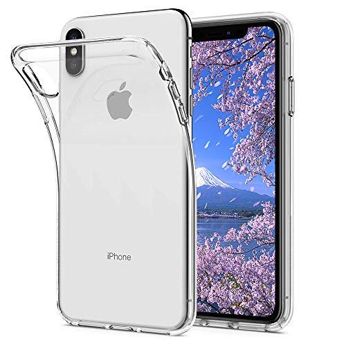 iPhone XS ケース クリア 透明 tpu ソフトシェ...