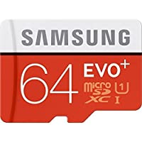 SAMSUNG 三星 Evo Plus 64GB MicroSD XC メモリカード Class 10 UHS-1 80mb/s Mobile Memory Card MB-MC64DA 電話用アクセサリー 【海外直送品】 【並行輸入品】