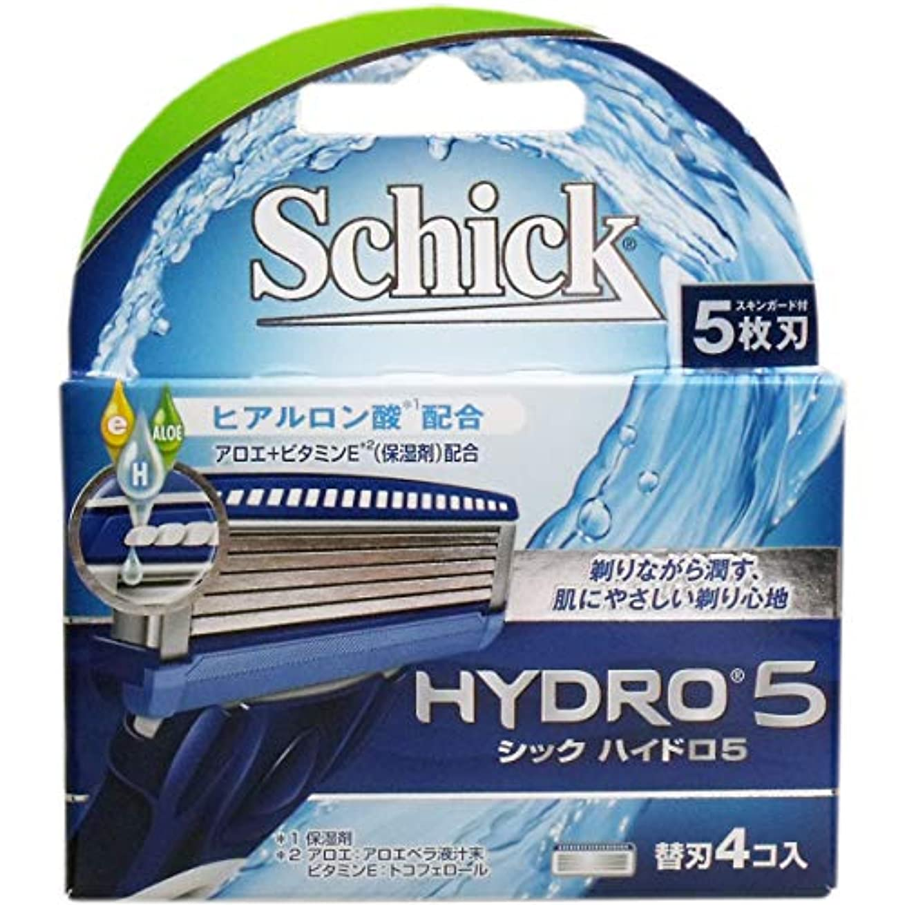 くるみ介入する爬虫類シック ハイドロ5 替刃 4個入×10個セット