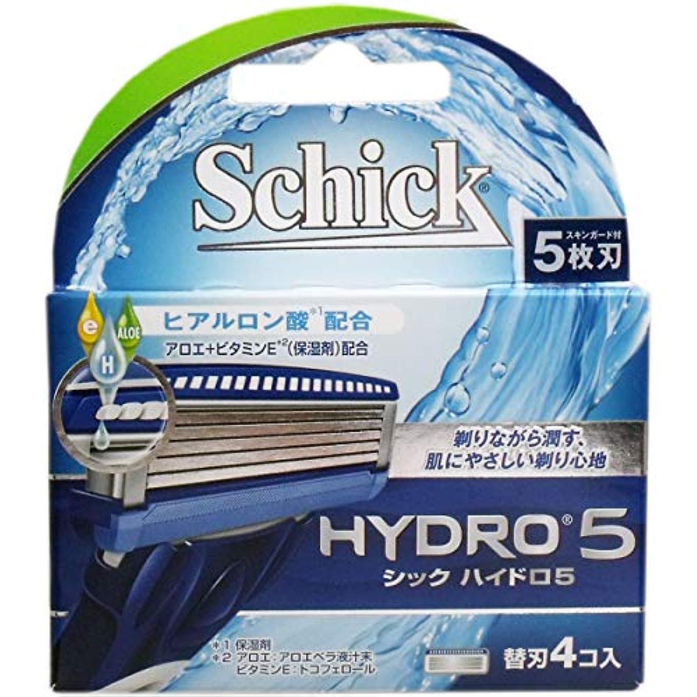 消費するビルダー淡いシック ハイドロ5 替刃 4個入×2個セット