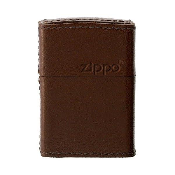 ZIPPO(ジッポー) オイルライター 革巻き ...の商品画像