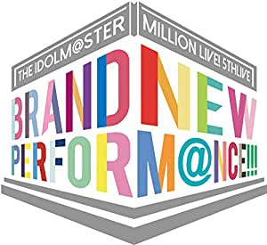 【Amazon.co.jp限定】THE IDOLM@STER MILLION LIVE! 5thLIVE BRAND NEW PERFORM@NCE!!!LIVE Blu-ray COMPLETE THE@TER (A3クリアポスター(ライブ写真+イラスト絵柄)&トートバッグ(ライブロゴ絵柄)付)