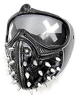 【ぴぴっと】 フェイスマスク ウォッチドッグス2 レンチ風 コスプレ 仮装 パーティー 変装 や 遊び に 宴会 (収納袋付き)