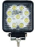 LED ワークライト 作業灯 27w 12v~24v対応