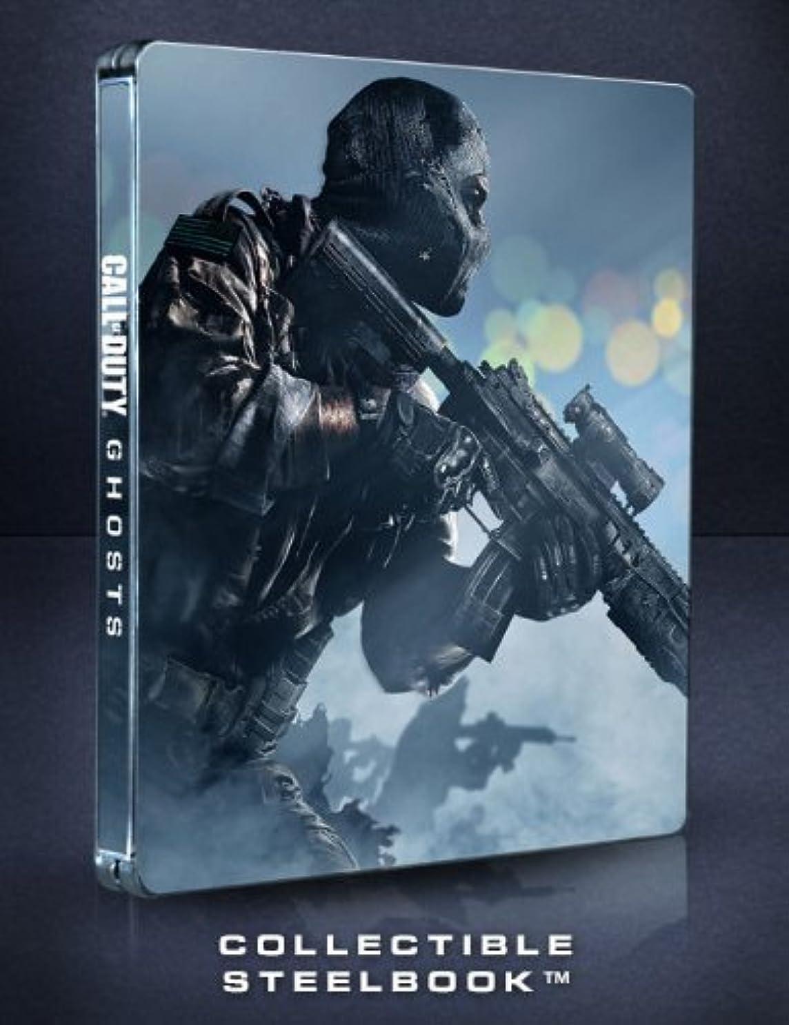 スローガン恥ずかしい差別的Call of Duty Ghosts Steelbook Case [G2 Size] [NO GAME] by Activision [並行輸入品]
