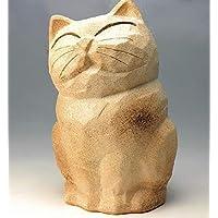 信楽焼 傘立 猫