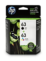 HP 63 Black & Tri-color Original Ink Cartridges 2 Cartridges (L0R46AN) [並行輸入品]