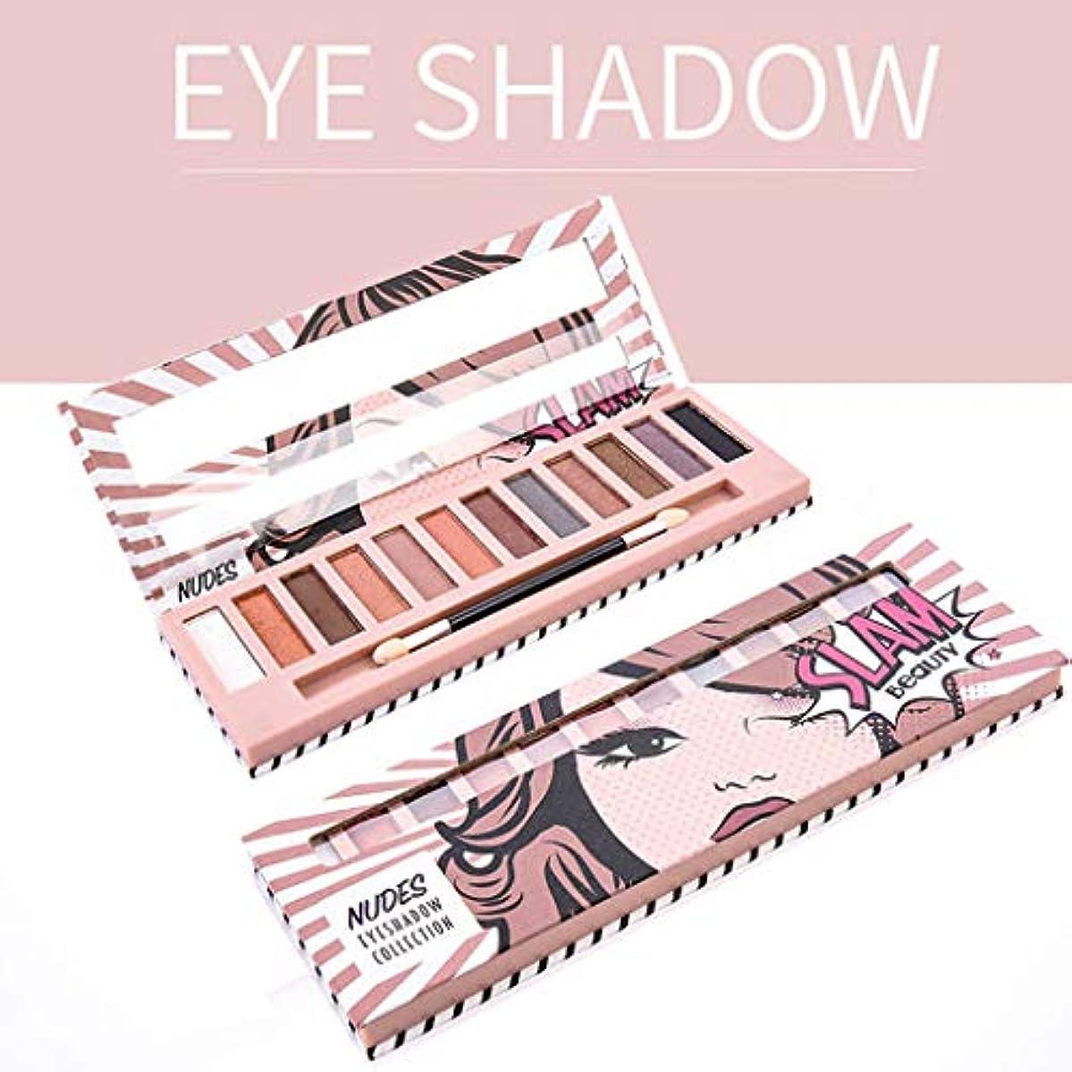 発症補足群集Akane アイシャドウパレット NUDES Slam Beauty 綺麗 マット 可愛い ファッション おしゃれ 人気 長持ち 持ち便利 Eye Shadow (12色)