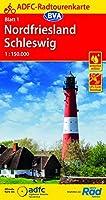 ADFC-Radtourenkarte 1 Nordfriesland /Schleswig 1:150.000, reiss- und wetterfest, GPS-Tracks Download